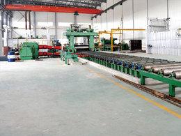 铝合金二辊可逆热轧机机组